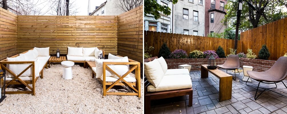 Rooftops and backyards at Common (Crown Heights and Williamsburg)