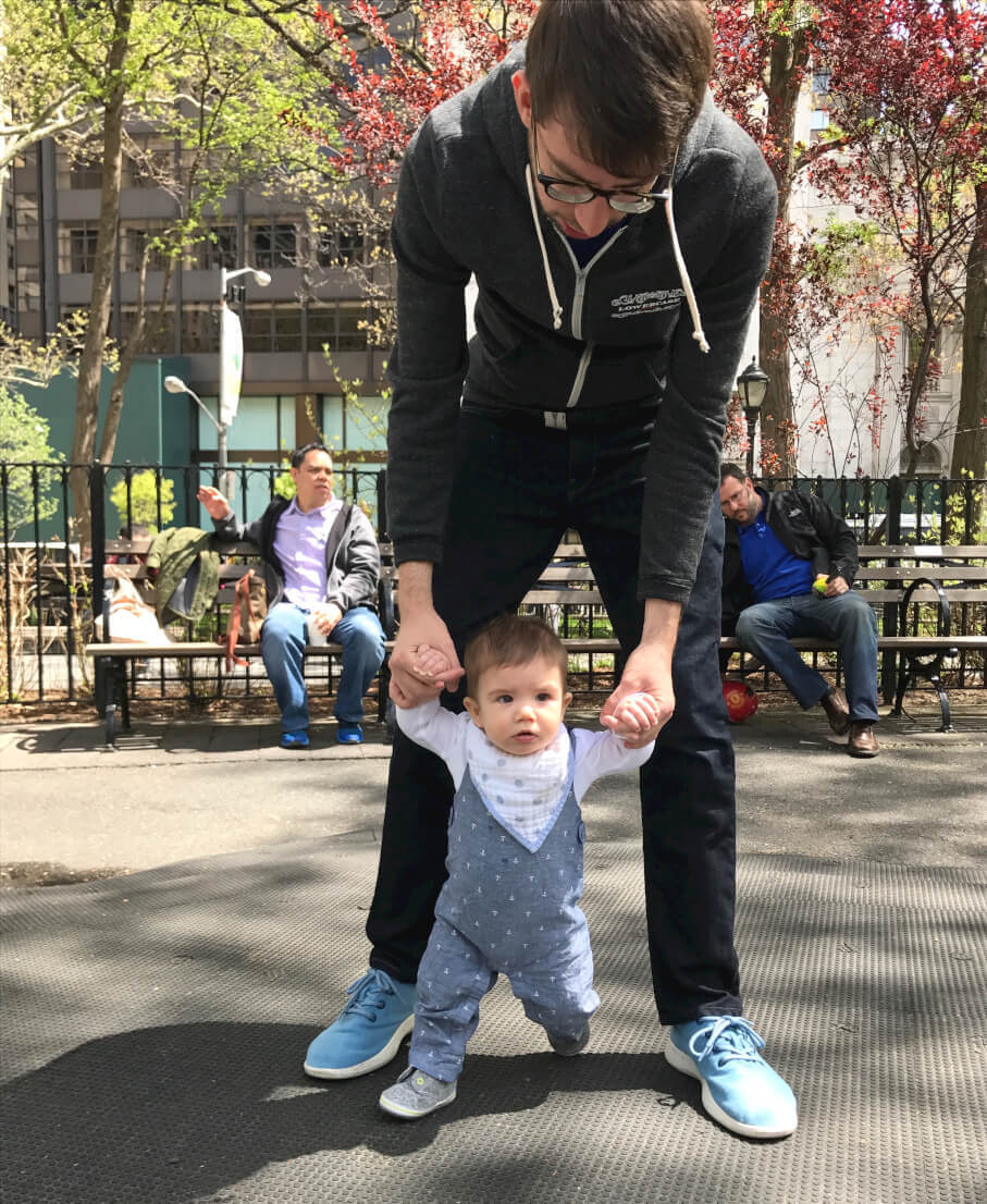 """The Common community takes an interest in one another. During the AMA members inquired about Julian, Brad's son, and the """"youngest Common member."""""""