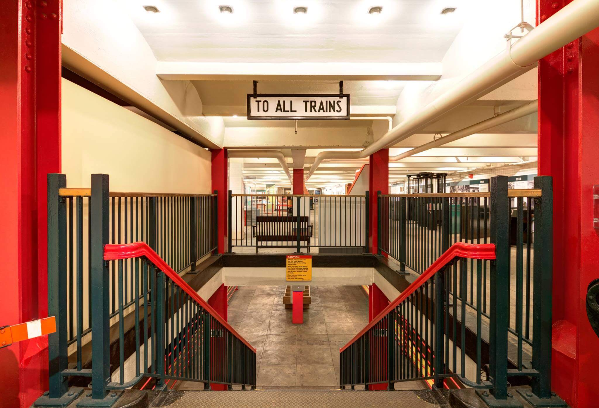 The Transit Museum is one of the highlights of Boerum Hill.