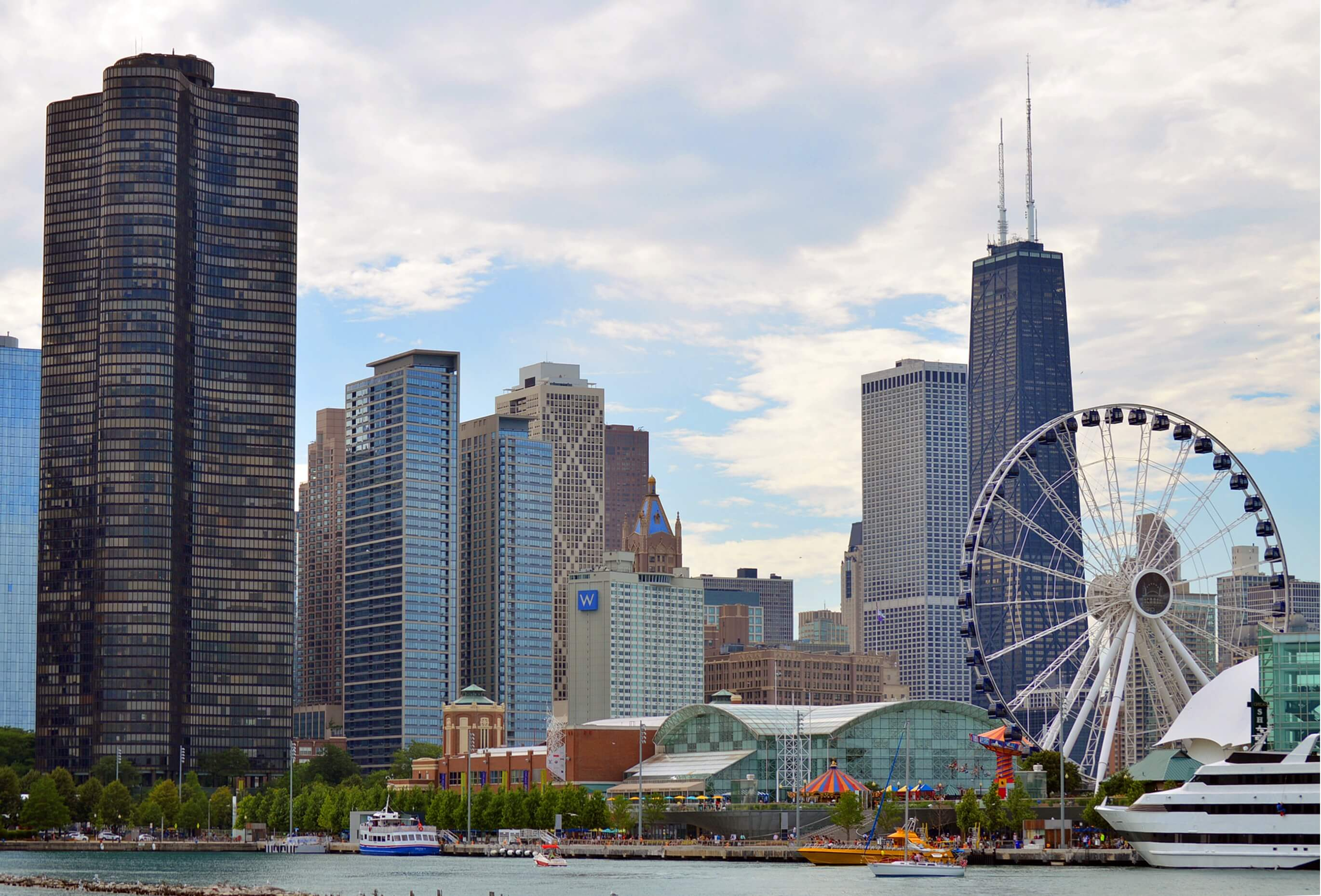 Chicago in the Spring