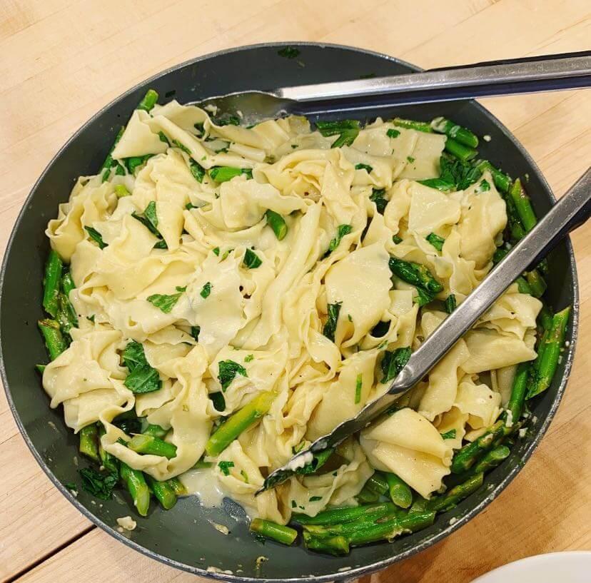 community event pasta