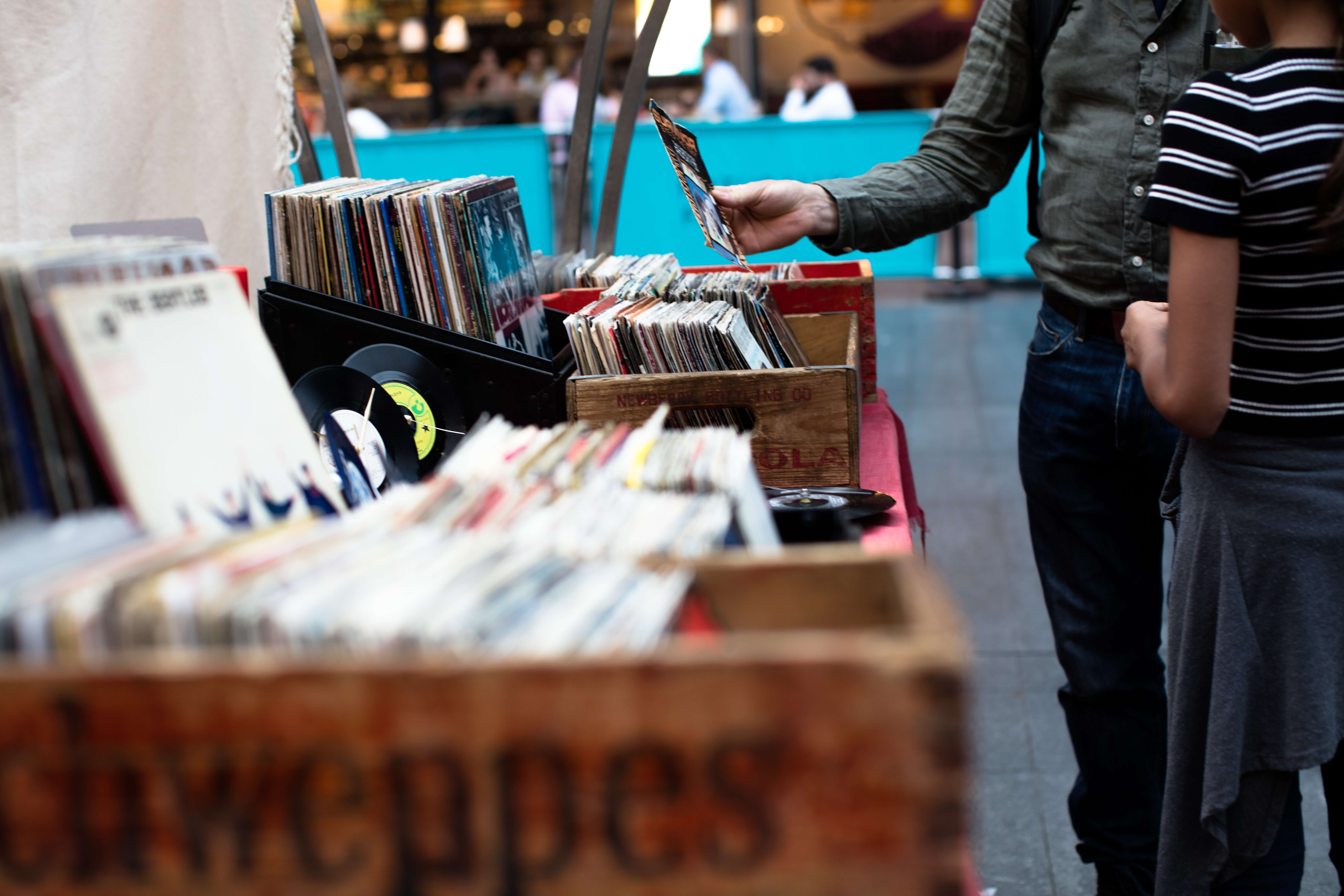 thrift-store vinyl